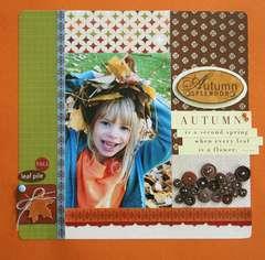 Autumn Splendor layout