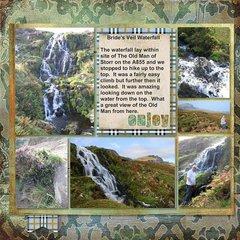 2014, Skye - Bride's Veil Waterfall