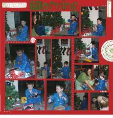 Christmas morning 2006
