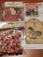 Goodies from pal in Secret pal swap Round #15