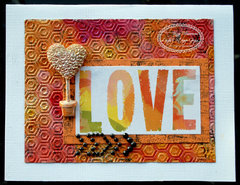 Love card for Lindy's Stamp Gang