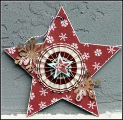 Christmas Star Ornament #1