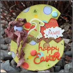 Happy Easter - RAWR!