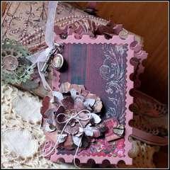 Postage Stamp Mini Album