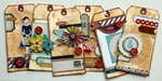 Travel Tag Set  *Crate Paper*