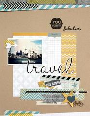 Travel Fabulous  *Pink Paislee*