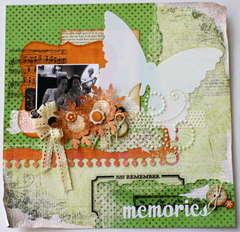 memories **pink paislee**