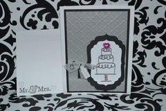 wedding card and envelope