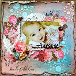 Awesome ~ My Creative Scrapbook July LE Lit