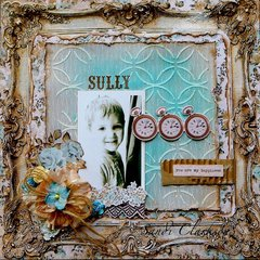 Sully ~ My Creative Scrapbook July LE Kit