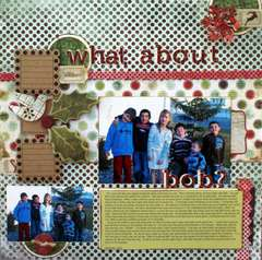 What About Bob? My Scrapbook Nook December Kit