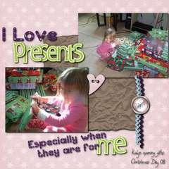 I love presents