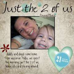 Just the 2 of us p365 day 21