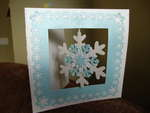 snowflake card.