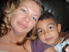 noah & mom