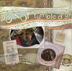 DO NOT tumble dry