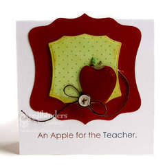 Apple for the Teacher by Lesley Langdon