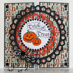 Trick or Treat Card by Michelle Woerner