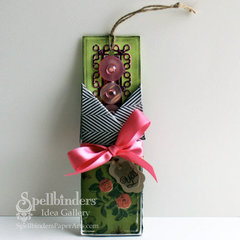 Shabby Bookmark by Windy Robinson