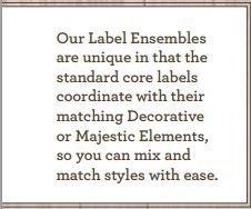 Spellbinders Nestabilities - Classic Labels