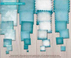 Spellbinders Nestabilities - Classic Nesting Squares