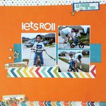 Let's Roll *Sketch N Scrap #50*