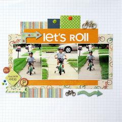 Let's Roll *Sketch N Scrap*
