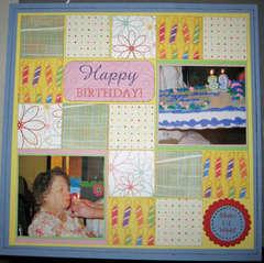 Aunt Dawn's 89th birthday