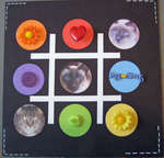 NSD Colors of the Rainbow Challenge - Tic Tac Toe - Best Friends