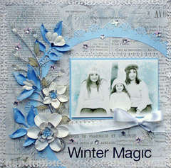 Winter Magic***Scraps of Darkness** PSE Tutorial