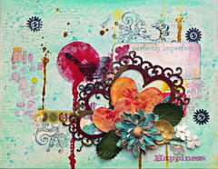Happiness Canvas ***Scraps of Darkness ** Tutorial**
