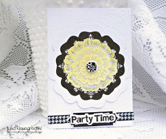 Party Time Card **Ruby Rock It **