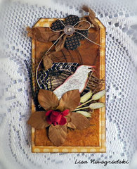 Crow Tag ** Gina's Designs & Scraps of Darkness **