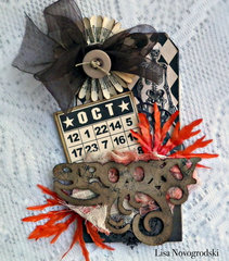 Spooky Tag **Gina's Designs & Scraps of Darkness