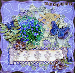 Violets ***HEARTFELT CREATIONS***