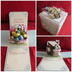 Easter Explosion Box Card