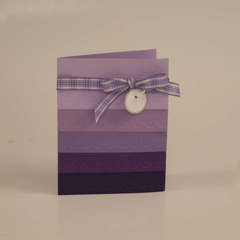 Embossed in Layers Card
