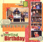 Bowling Birthday by Laina Lamb