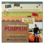 Pumpkin by Summer Fullerton featuring the County Pumpkin Chowder Collection