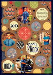 Ready 2 Rock Layout by Laina Lamb