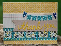 Thank You Card by Kim Holmes