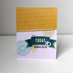 Today Card by Melanie Blackburn