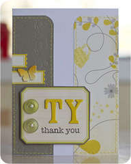 TY Thank you Card