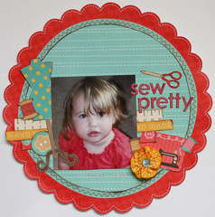 *My Creative Scrapbook* - Sew Pretty