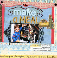 Make a Meal (To Dos for Chris from Mom)