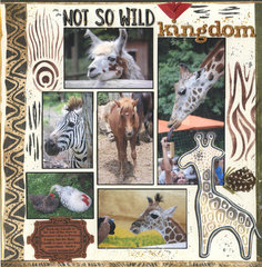 Not So Wild Kingdom