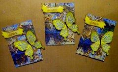 April ATC - Butterfly -