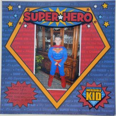 Super Hero *Creative Imaginations Super Hero*