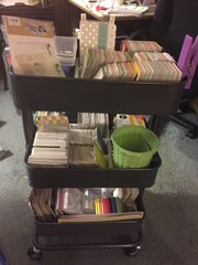 Project Life Organization Cart