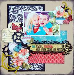 Fun, Frivolity, Friendship *Lilybee Designs*
